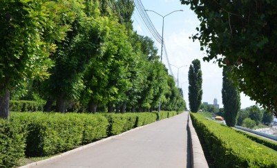 The embankment named after Cosmonauts