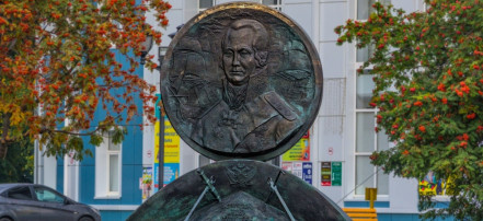 The monument to Admiral Ushakov: Фото 1