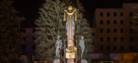 The monument to composers Agapkin and Shatrov: Фото 1