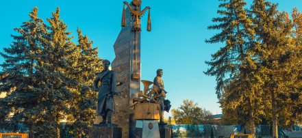 The monument to composers Agapkin and Shatrov: Фото 3