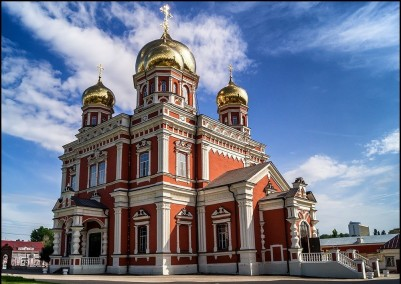 The Church of the intercession of the mother of God