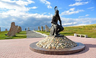 Memorial Complex on the Mount Samokhval