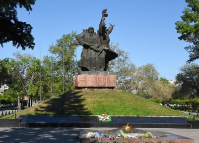 Monument to the soldiers fallen in the Great Patriotic war