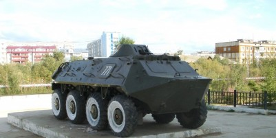 The armored personnel carrier 711