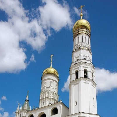 The Ivan The Great Bell Tower of Moscow Kremlin