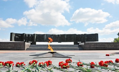 Memorial in honor of the heroes of the Kursk battle