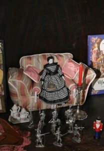 The museum of dolls and the children's book «Wonderland»
