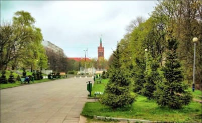 """""""Yunost"""" (""""Youth"""") Park"""
