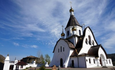 The church in honor of the icon of the Mother of God «Vsetsaritsa»
