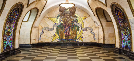 Custom tour of the Moscow metro with private guide