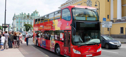 City tour of Saint-Petersburg by double-decker bus in «Hop on/Hop off» format: Фото 3