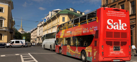City tour of Saint-Petersburg by double-decker bus in «Hop on/Hop off» format: Фото 5